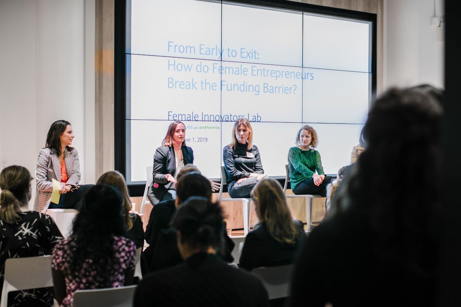 female innovators lab event